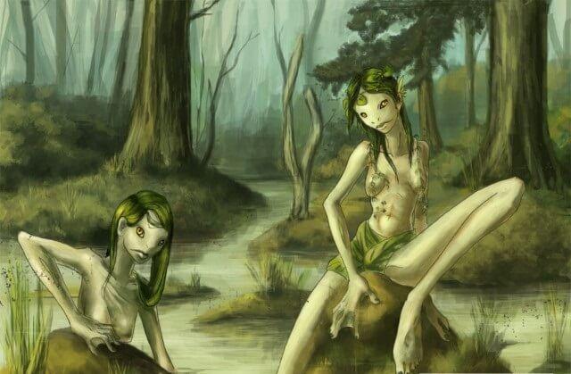 Кикимора болотная: кто это, как выглядит, как изгнать из дома
