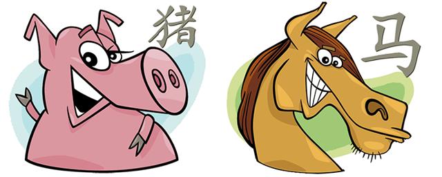 Лошадь и Свинья (Кабан): совместимость по гороскопу