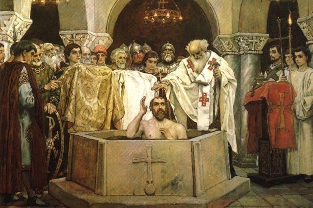 Молитва равноапостольному святому князю Владимиру