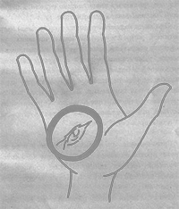 Родинки на холме Луны: правая и левая рука, у женщины, хиромантия