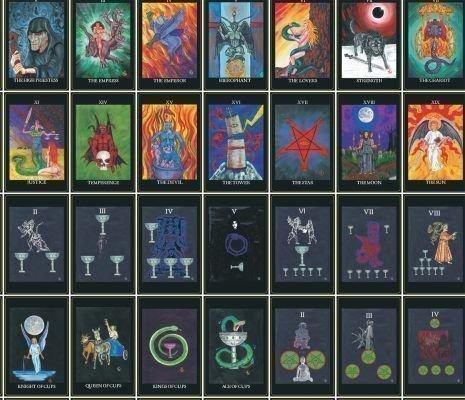 Таро Люцифера: галерея, значения карт, сочетания и толкования в раскладах