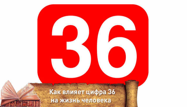 Число 36: значение в нумерологии