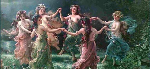Нимфа (древнегреческая мифология): кто это, речная, морская