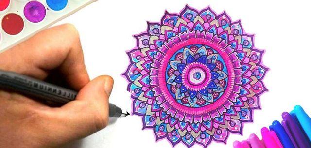 Мандала удачи: для успеха, везения и процветания, как сделать своими руками, распечатать шаблон для раскрашивания