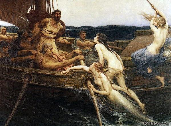 Мифические (волшебные) существа: список, похожие на людей, женского пола