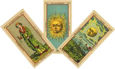 Таро Гранд Эттейла: галерея, значения карт, сочетания и толкования в раскладах
