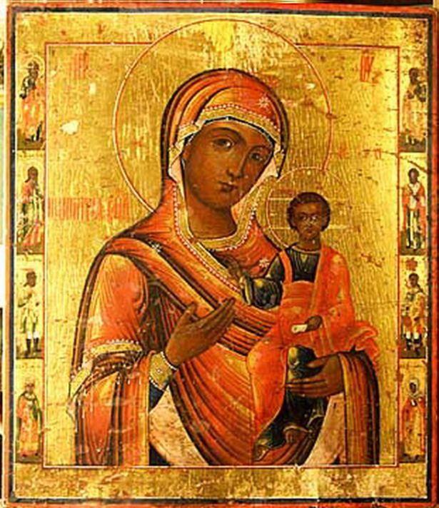 Молитва иконе Божьей Матери