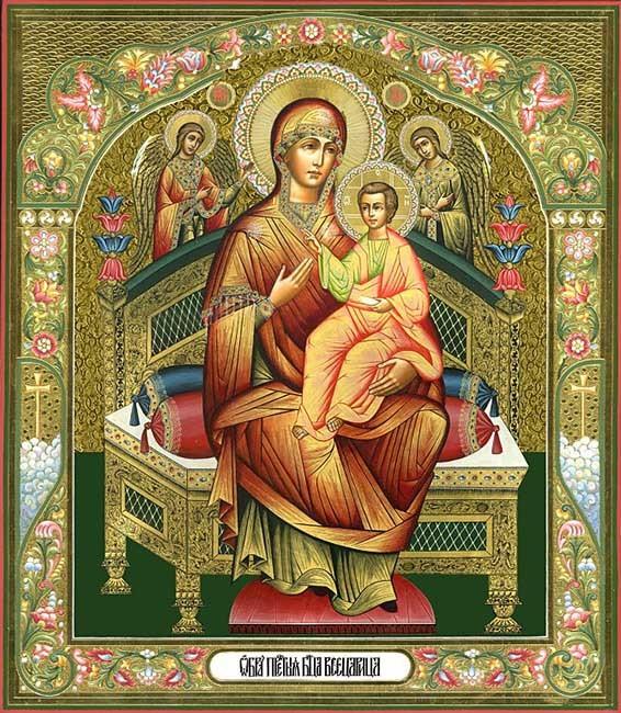 Молитва иконе Божьей Матери «Всецарица»: об исцелении, в чем помогает, акафист