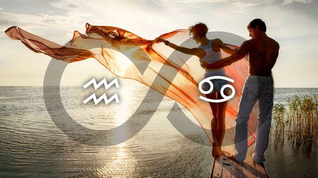 Водолей и Рак: совместимость в любви и браке по гороскопу