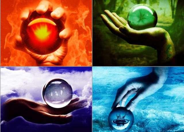 Амулет на четыре стихии: земли, огня, воды и воздуха