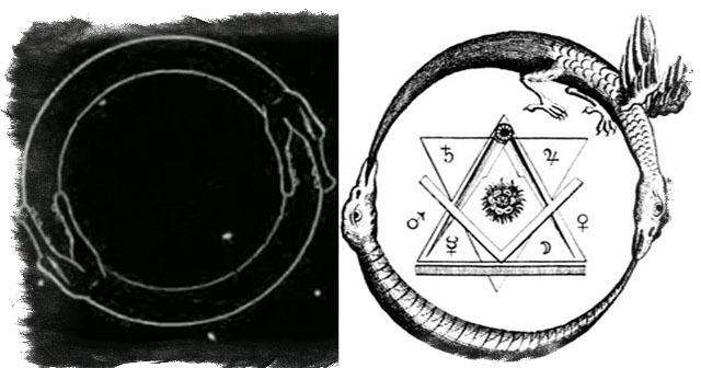 Символ Уроборос: что означает, описание, змея