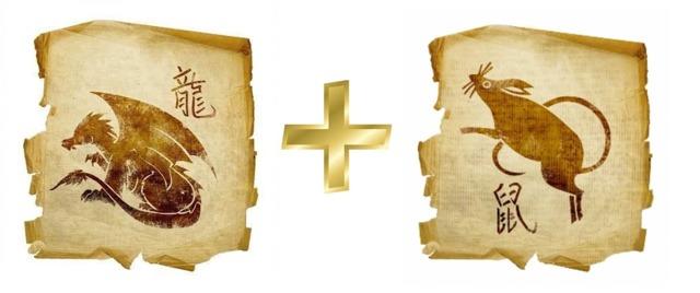Крыса и Дракон: совместимость в любви, по гороскопу