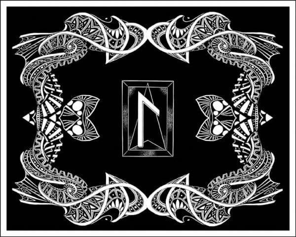 Руна Лагуз (Лагус): как выглядит, описание и толкование в перевернутом положении, значение символа Интуиции в пути шаманского сновидения