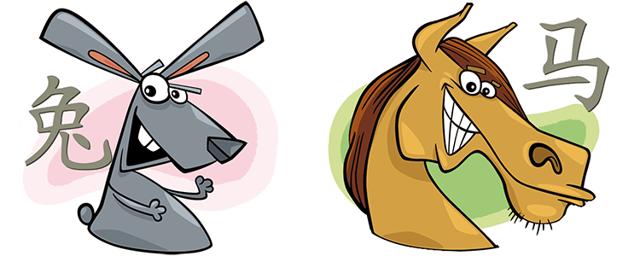 Лошадь и Кролик: совместимость в браке, гороскоп