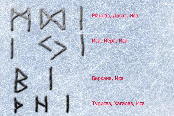 Руна Иса (Исса): значение символа льда, совет при гадании, толкование «да» или «нет», руническая формула БИС
