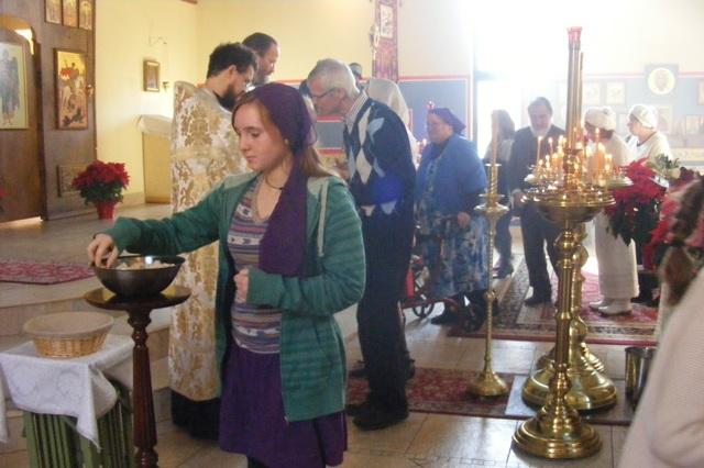 Молитва на принятие святой воды и просфоры: перед употреблением