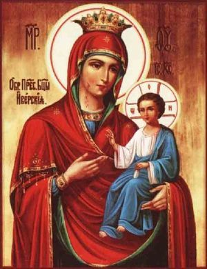 Молитва иконе Божьей Матери «Достойно есть»: значение, в чем помогает, на русском языке