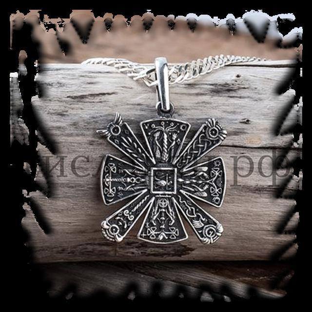 Оберег славянский крест: значение, описание, защитный символ