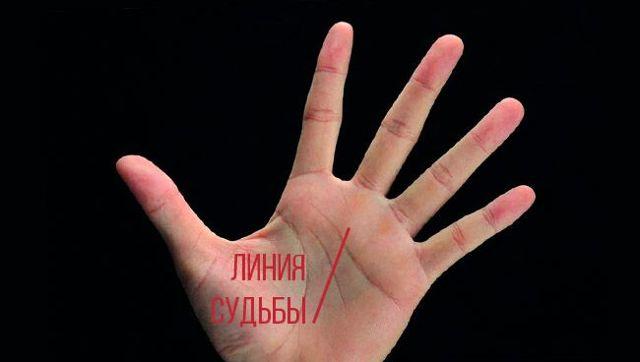 Линия судьбы (Сатурна) на руке: хиромантия, значение, идет к мизинцу